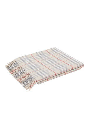 Burberry Vintage Check Wool Baby Blanket