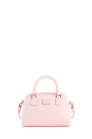 Dolce & Gabbana Girls' Top-Handle Bag with Shoulder Strap
