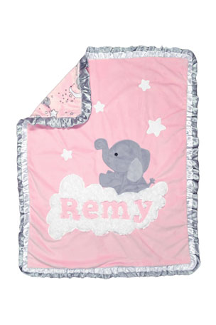 Boogie Baby Personalized Trunk Show Blanket