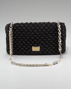 Dolce   Gabbana Miss Charles Crochet Bag on PopScreen 96dee87a38