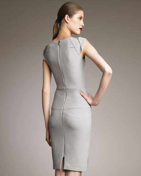 O'Hara Dress, Dove Gray