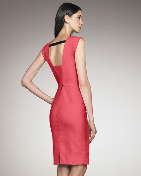 Exclusive Skiffins Dress, Coral