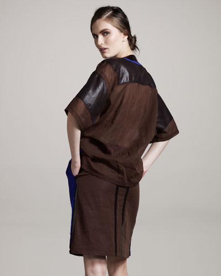 Plisse Tech Skirt
