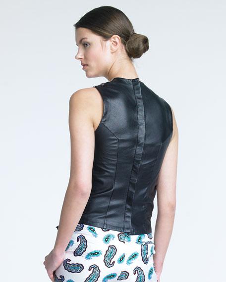 Silk Paisley Top