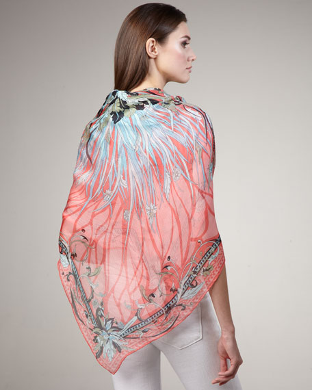 Estate Extra-Large Silk Shawl