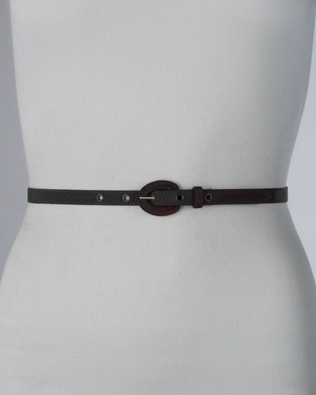 Classic Skinny Belt