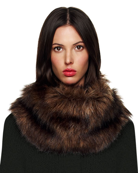 Faux-Fur Neck Warmer
