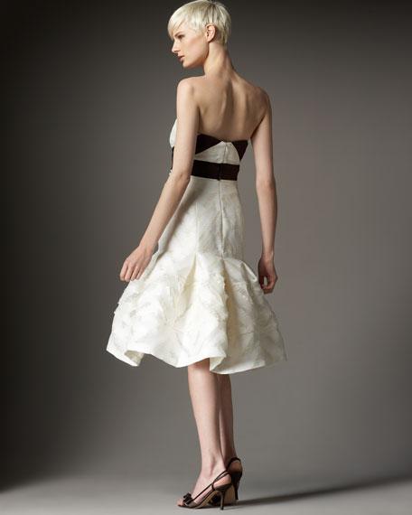 Strapless Organza Dress
