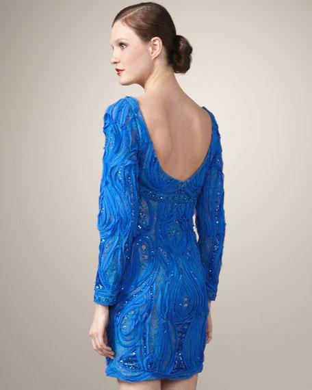 Textured Pattern Dress