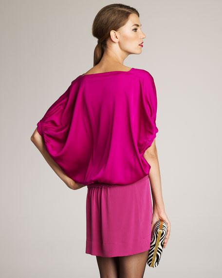 Edna Two-Tone Dress