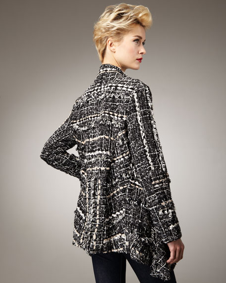 Loose Tweed Jacket