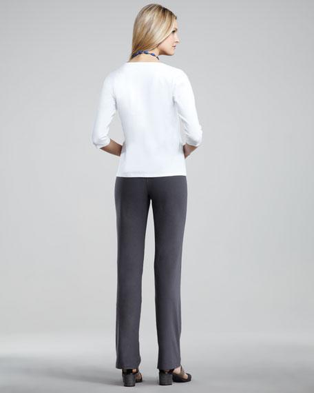 Slim Boot Leg Pants, Women's