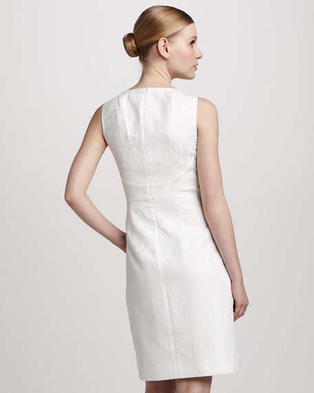 Cotton Jacquard Dress