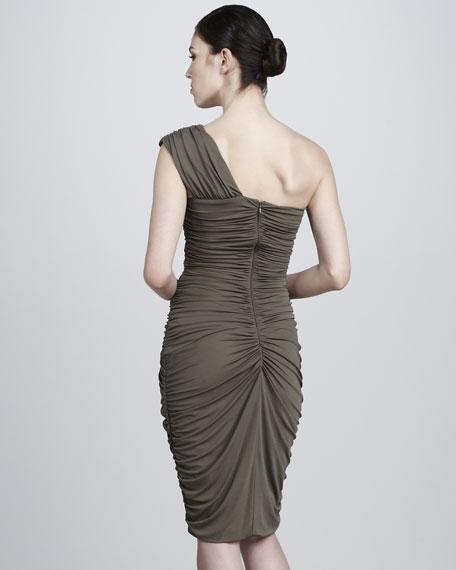 Tissue Stretch Jersey Dress