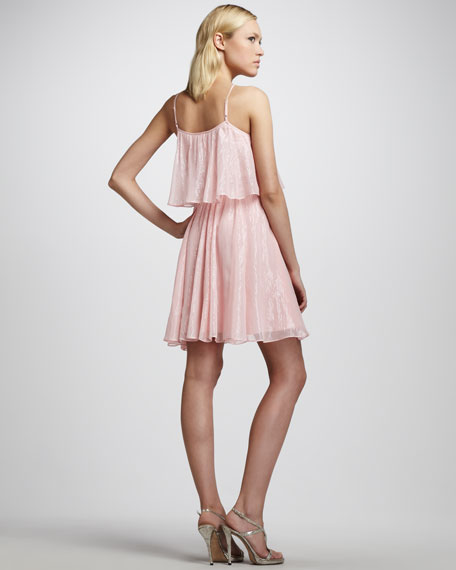 Shimmery Tiered Dress