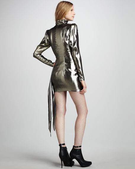 Helena Metallic Minidress