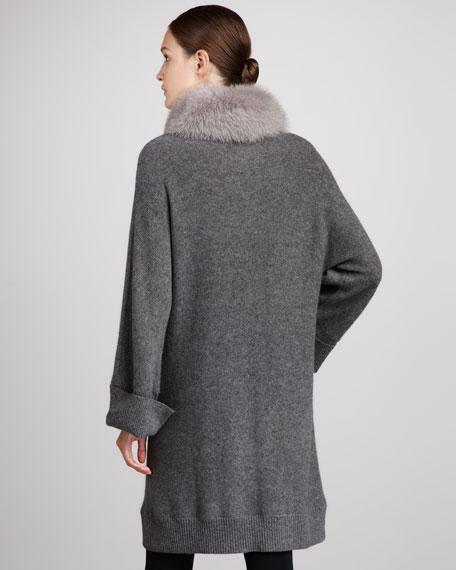 Fur-Collar Cape