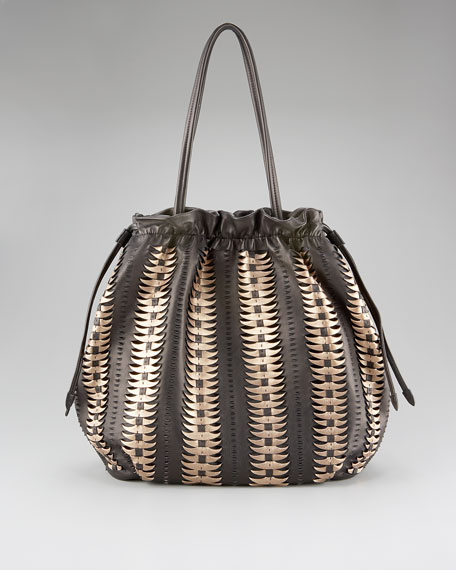 Bailey Feather-Light Leather Tote