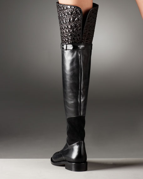 Convertible Over-the-Knee Boot
