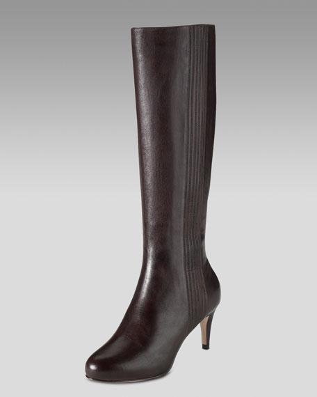 Violet Air Mid-Heel Boot
