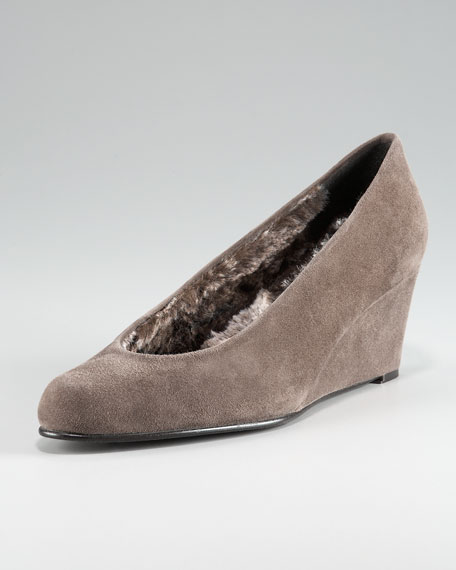 FUR LINED CHOKED UP WEDGE