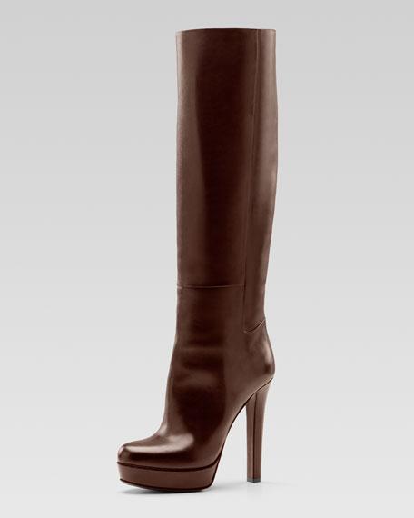 Alexa High-Heel Platform Boot