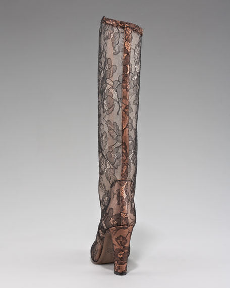 Sheer Lace Boot
