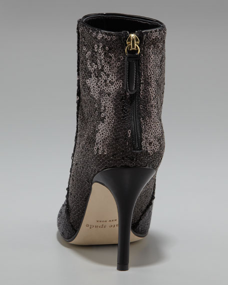 kleo sequined ankle boot