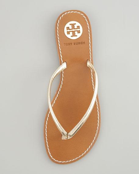 aaf08296d3c Tory Burch Abitha Leather Flip-Flop