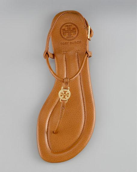 Emmy Logo Thong Sandal
