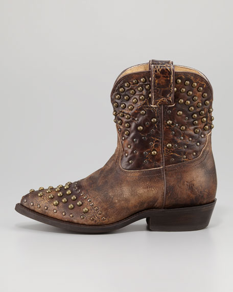 Billy Studded Short Boot
