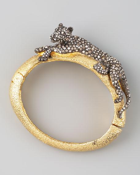 Siyabona Panther Bracelet, Gunmetal