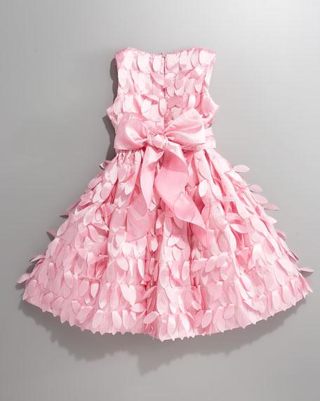 Full-Skirt Petal Dress
