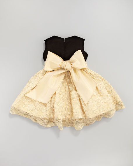 Velvet and Lace Dress, 12-24 Months