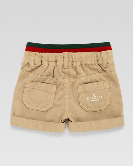 Carpenter Signature Web-Waistband Shorts