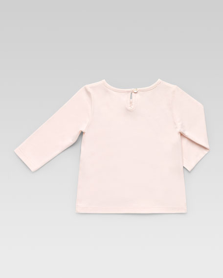 Gucci Ballet Long-Sleeve Tee