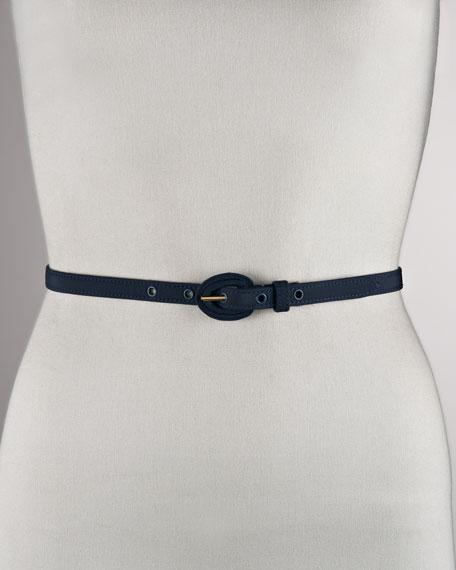 Thin Faille Belt