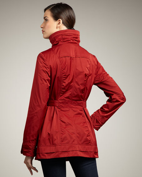 Funnel-Collar Jacket