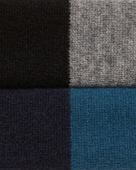 Colorblocked Cashmere Jogset