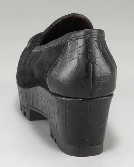 Sport Suede Lug-Sole Loafer