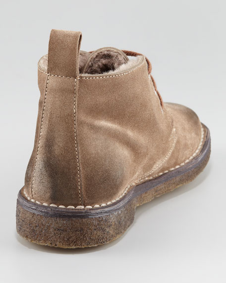 Candice Shearling-Lined Bootie