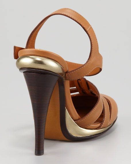 Closed-Toe Ankle-Wrap Sandal