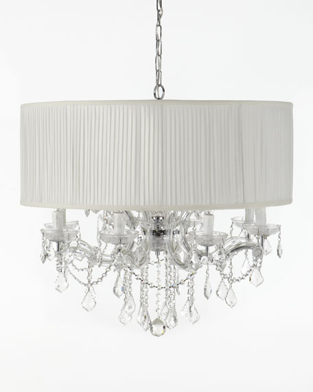 "Shaded ""Cascade"" Chandelier"