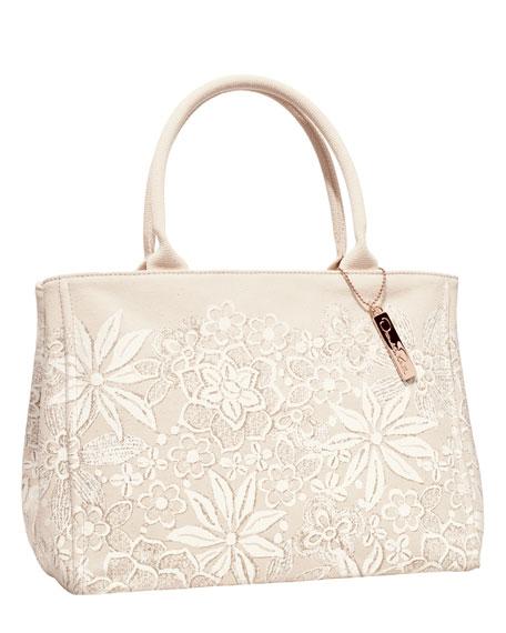 NM + Target Floral Canvas Tote Bag