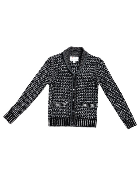 NM + Target Boy's Heathered Shawl-Collar Cardigan