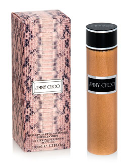 Jimmy Choo Glittering Perfumed Body Oil, 3.3 fl. oz.