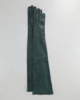 Portolano Opera-Length Leather Gloves