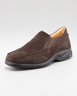 Sperry Top-Sider Gold Champ Suede Loafer, Chocolate