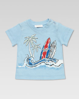 Gucci Gucci Surf Tee Shirt, Blue