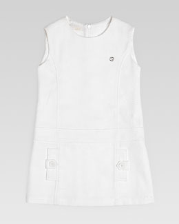 Gucci Cotton Pique Shift Dress